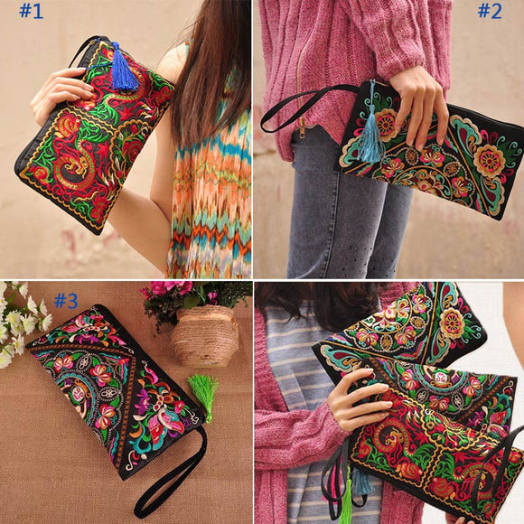 Ethnic Messenger Handbag
