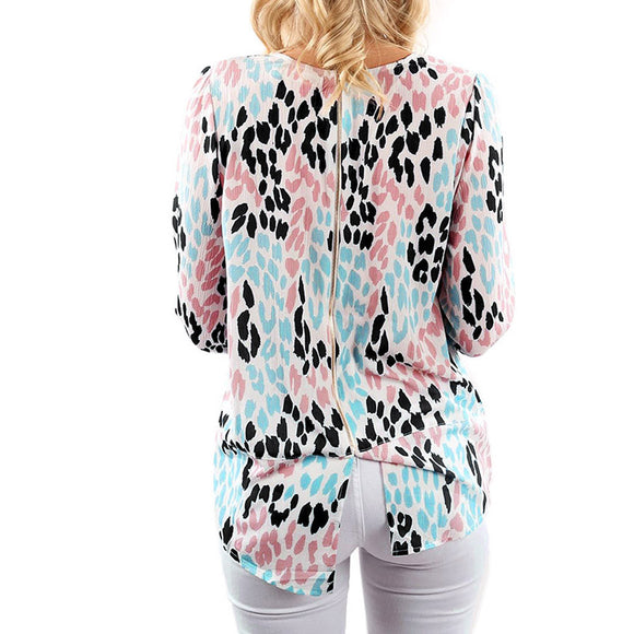 Leopard Prints Blouse