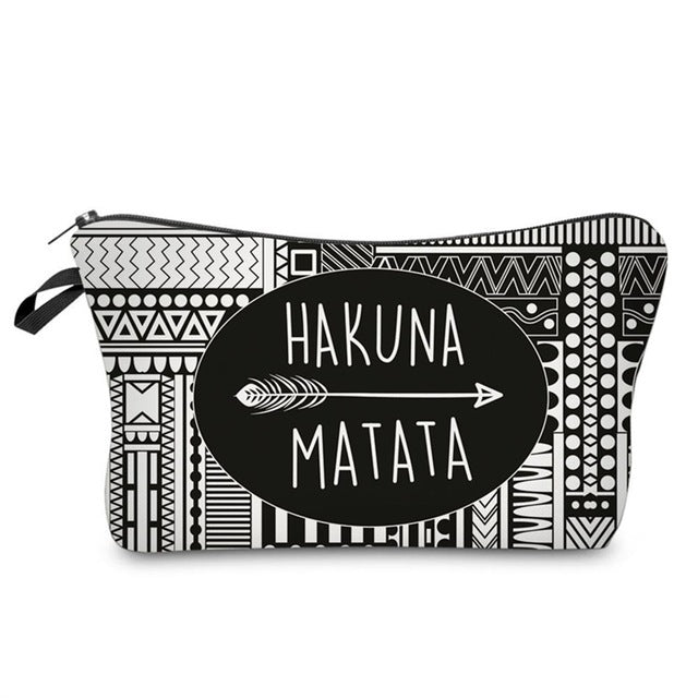 Hakuna Matata Bag For Makeup
