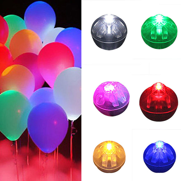 100Pcs Ball Led Balloon Lights Mini Flash Lamps