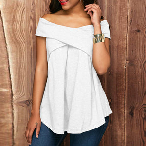 Yeisy Off The Shoulder  Pullover