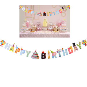 Happy Birthday Paper Banners
