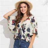 Flower Bohemian  Blouse