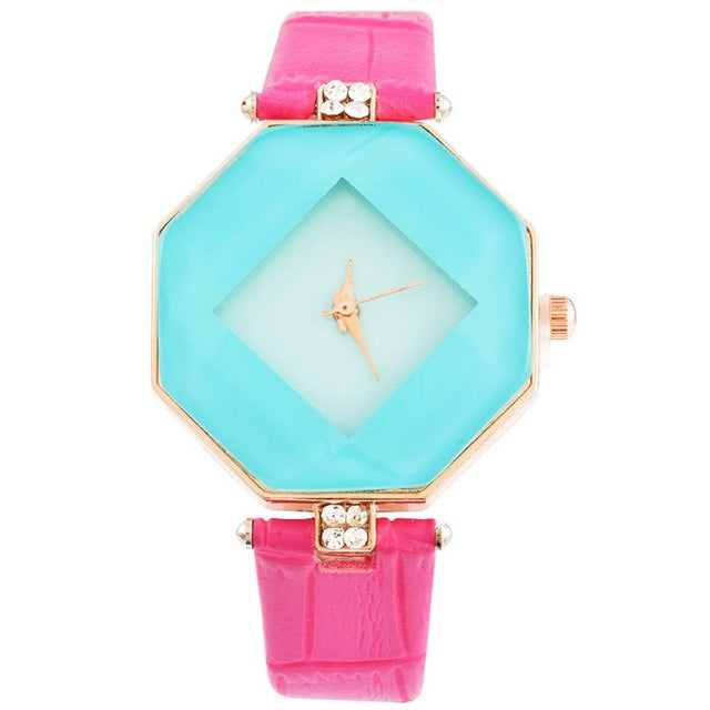 Diamond Octagon Watch
