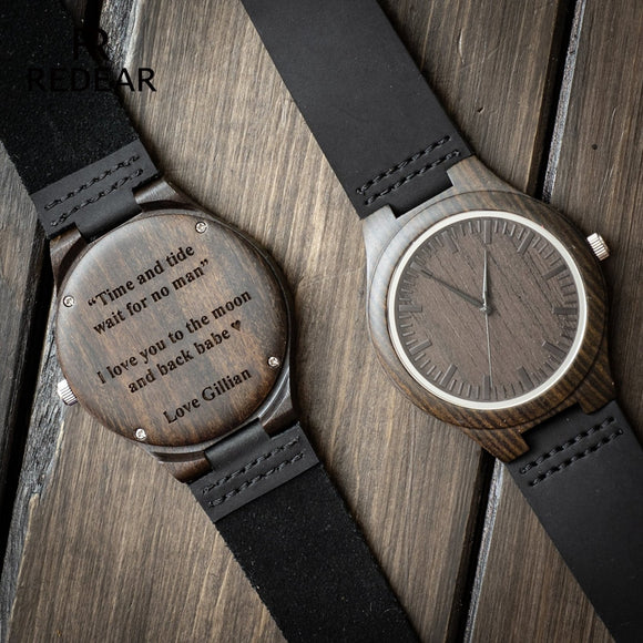DYT Wooden Watch for Men Boyfriend Or Groomsmen Gifts