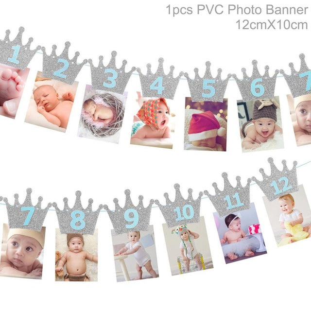baby First Birthday Banner