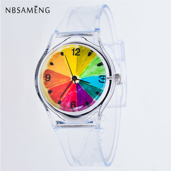 Full Colors  Women Sport watch