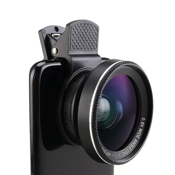 Phone Lens 2 in 1 Clip-on