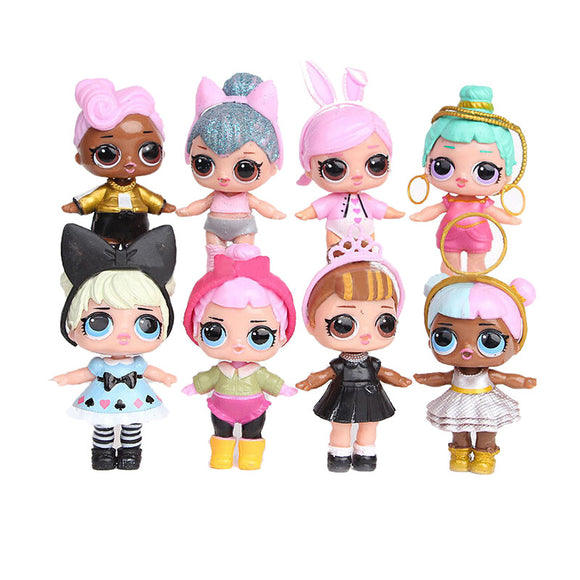 8  LOL Surprise Dolls