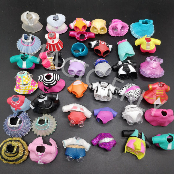 15pcs RANDOM original  LOL Girls Doll Accessories