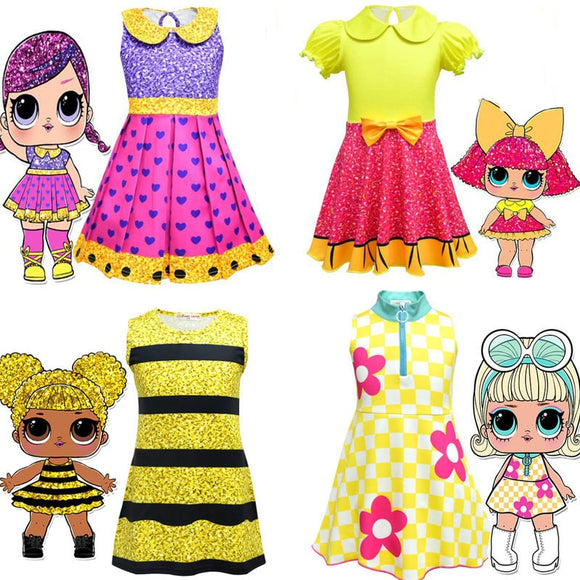 Pritty Lol Dolls Customes