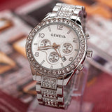 Women's Luxury Stainless Steel Crystal Watch