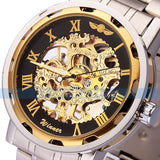 Luxury Mechanical Men's Skeleton Watch