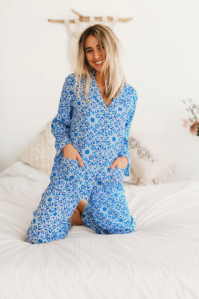 Pyjama Sets / Crescent Moon Long
