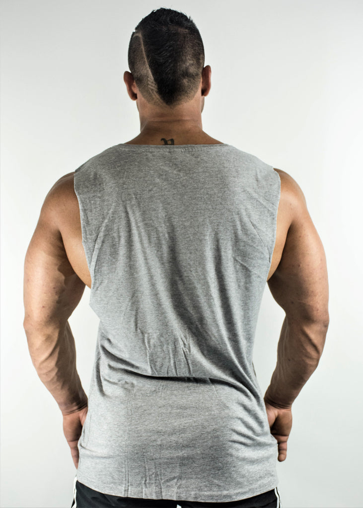 GENETICS MUSCLE TANK - GREY