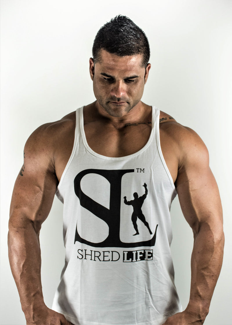 Original Stringer Singlet - White