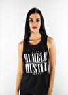 Exposed Hustle Singlet - Black