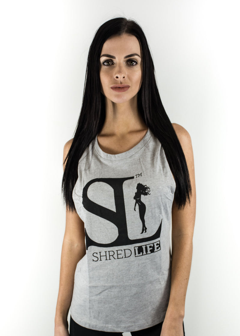 Exposed Original Singlet - Grey
