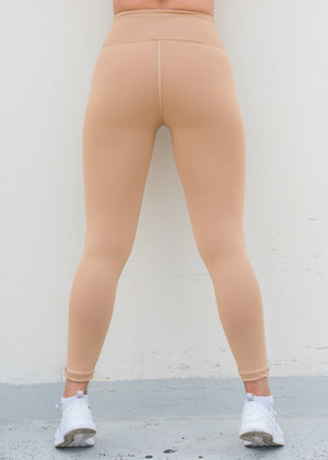 Lifestyle Tights - Nude