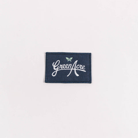 Green Acre Block Logo Patch