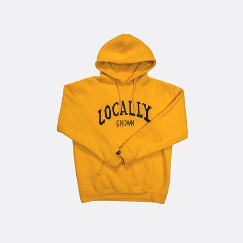 Locally Grown Hoodie - Yellow