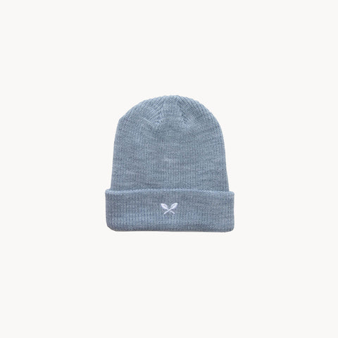 Sprout Beanie - Heather Grey