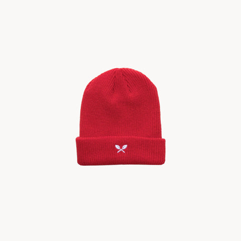 Sprout Beanie - Red