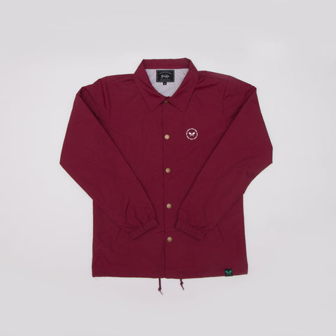 To Restore Coach Jacket - Maroon