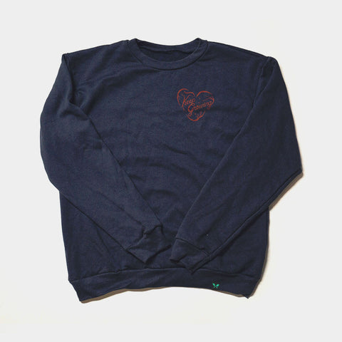 Keep Growing Sweatshirt - Navy