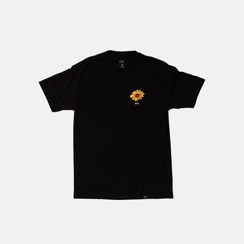 Give Your Flowers Tee - Black