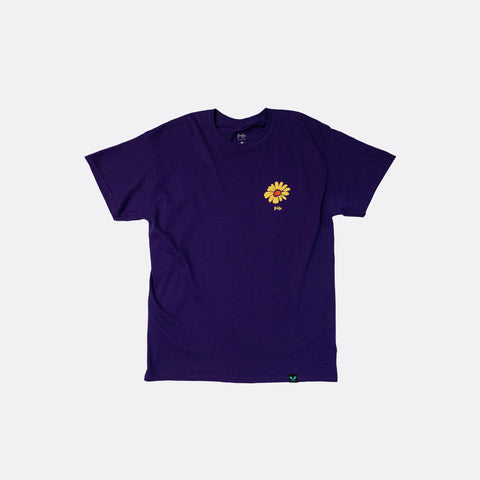Give Your Flowers Tee - Purple