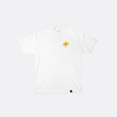 Give Your Flowers Tee - White