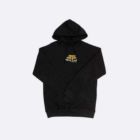 From The Bay With Love Hoodie - Black