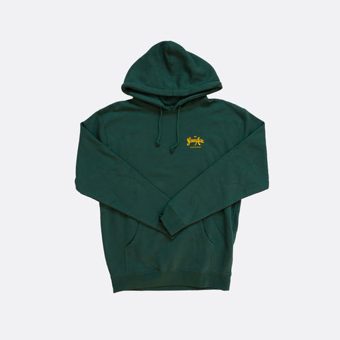 Green Acre Logo Hoodie - Green