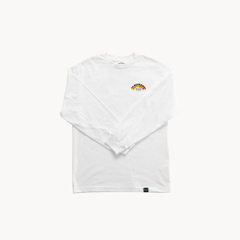 Move Set Records L/S Tee - White