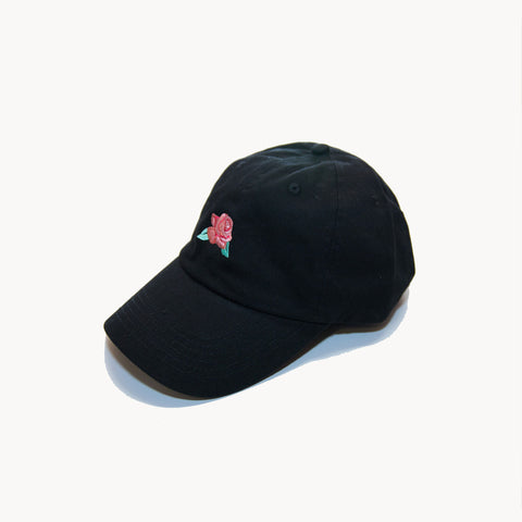 Concrete Rose Cap - Black