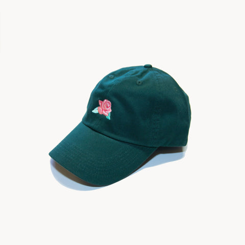 Concrete Rose Cap - Green