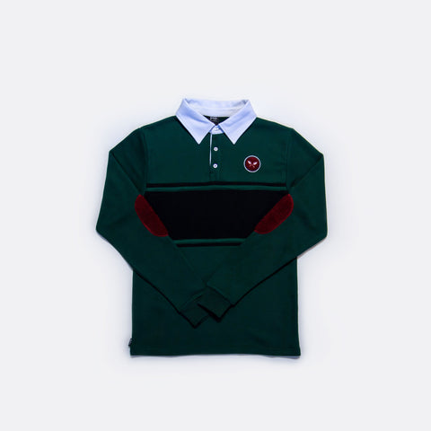 Sprout Rugby Shirt - Green/Black