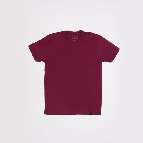 Tonal Sprout Tee - Maroon