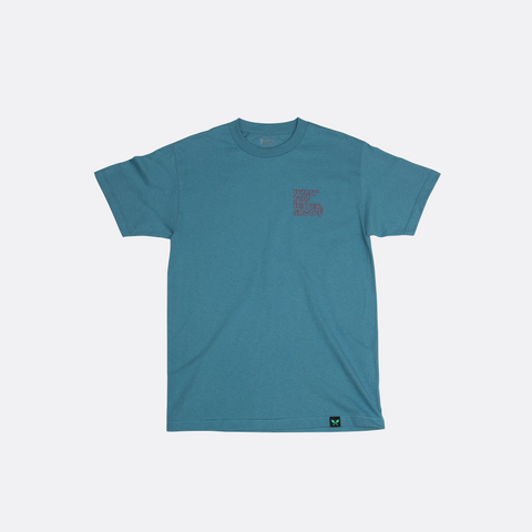 What You Water, Grows Tee - Slate Blue