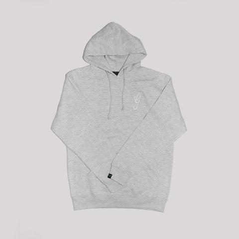 Tonal 'G' Hoodie - Heather Grey