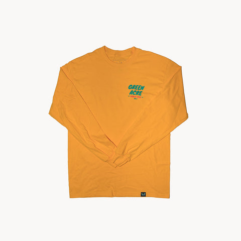 World Tour 2 L/S Tee - Gold