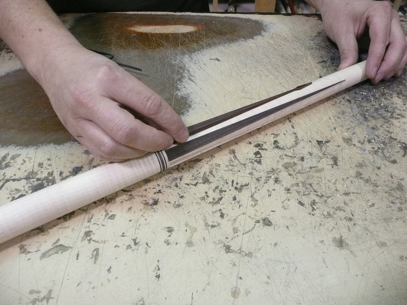 The making of a Pechauer Custom cue