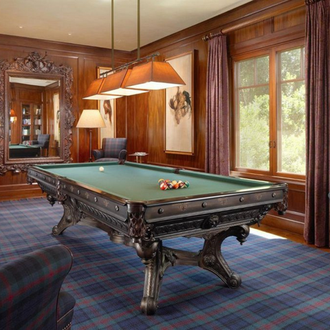 Antique Pool Tables at Buffalo Billiards Supply in Petaluma, CA