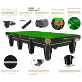RASSON MAGNUM 12FT SNOOKER TABLE