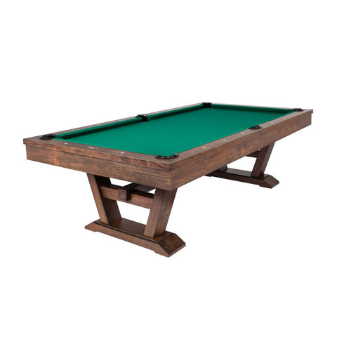 "The ""SCOTSDALE"" 8ft Whiskey finish Pool Table"