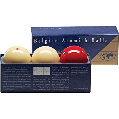 Super Aramith de Luxe Carom Ball Set for sale online