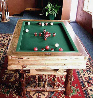 Drawknife Bumper Pool Table for sale online