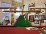 Antique French Pool Table Lamp
