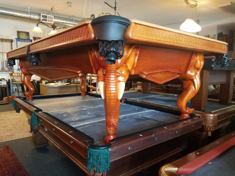 "Peter Vitale ""GANAPATI"" 9ft Pool Table SOLD"